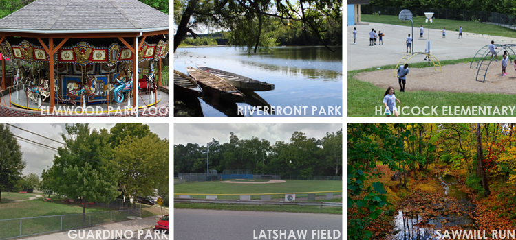 Norristown Parks Collage