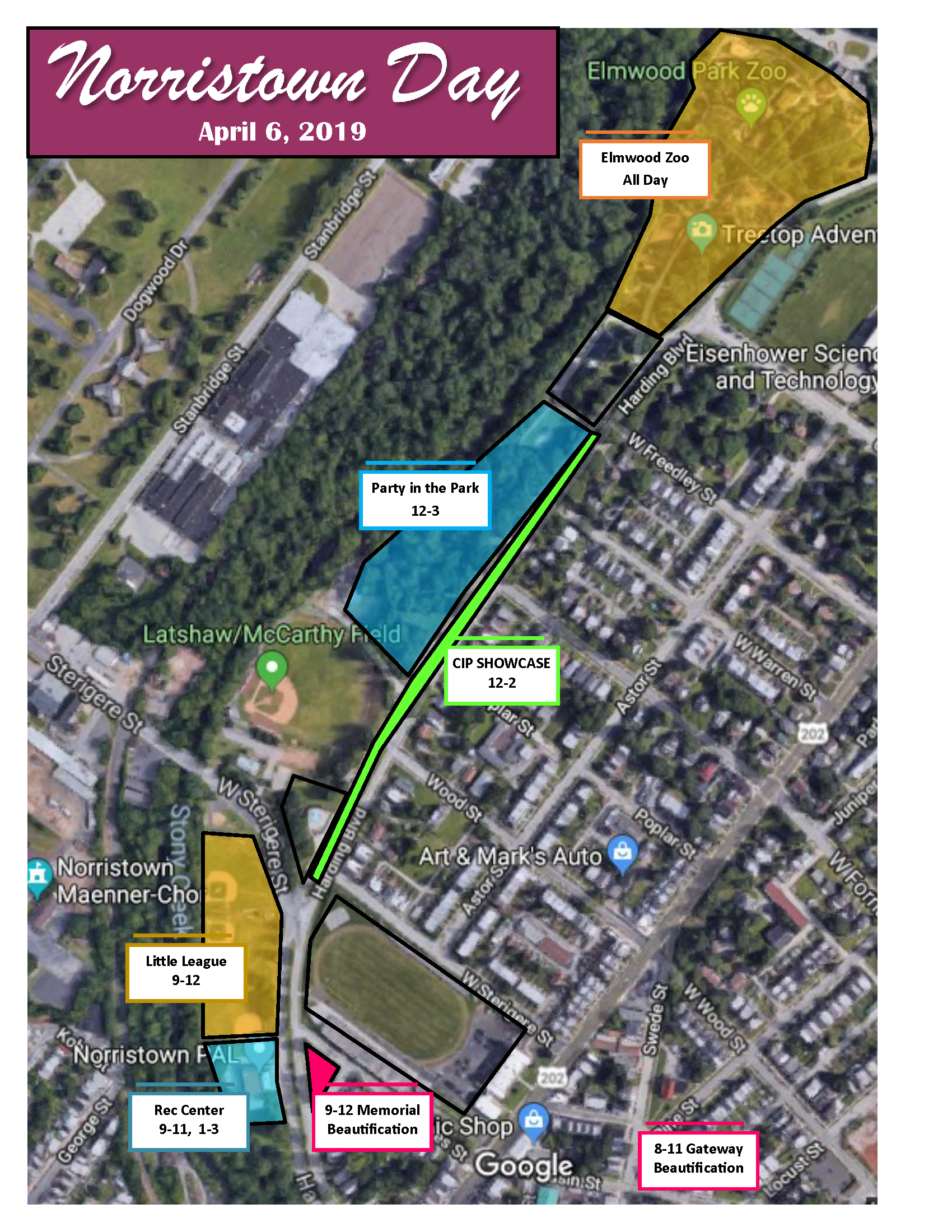 Norristown Day Map