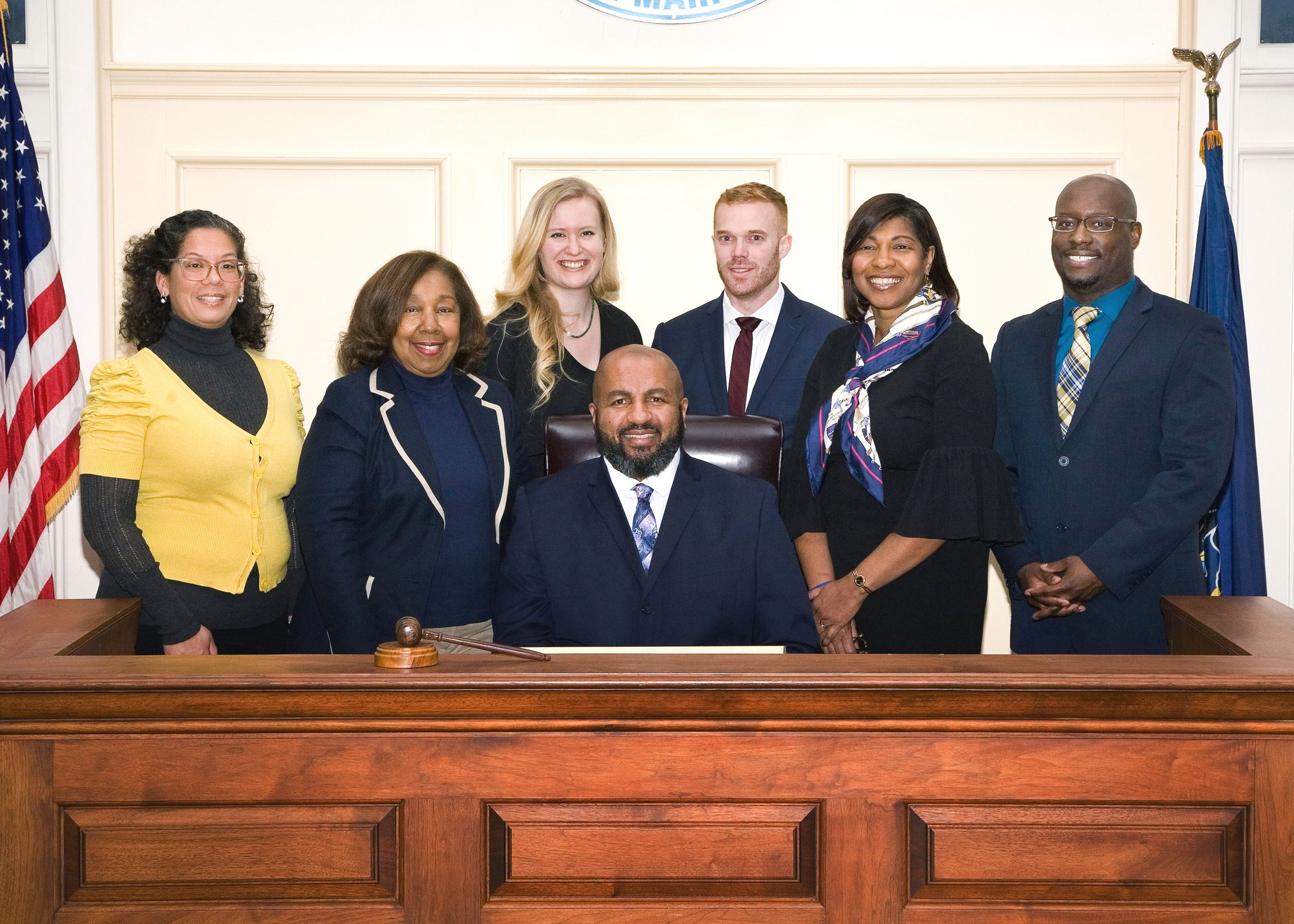Official 2020 council photo