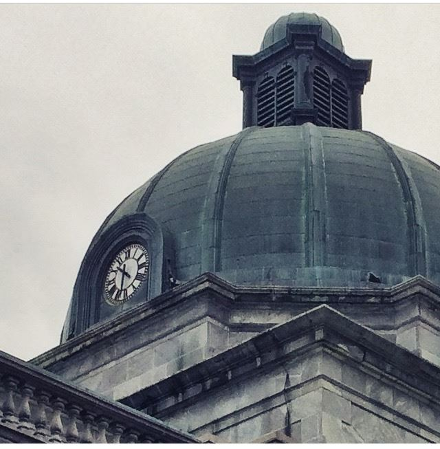 Dome of Montgomery County Courthouse