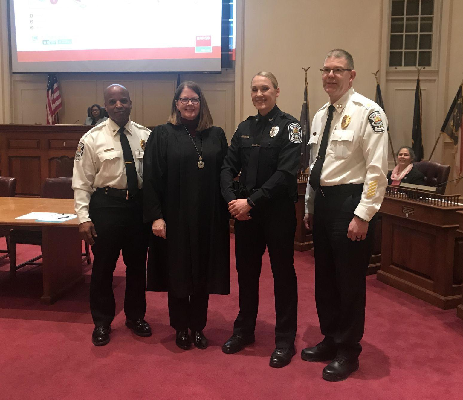 New Police Officer Tiffany Bobb