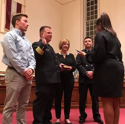 Deputy Fire Chief Swearing in