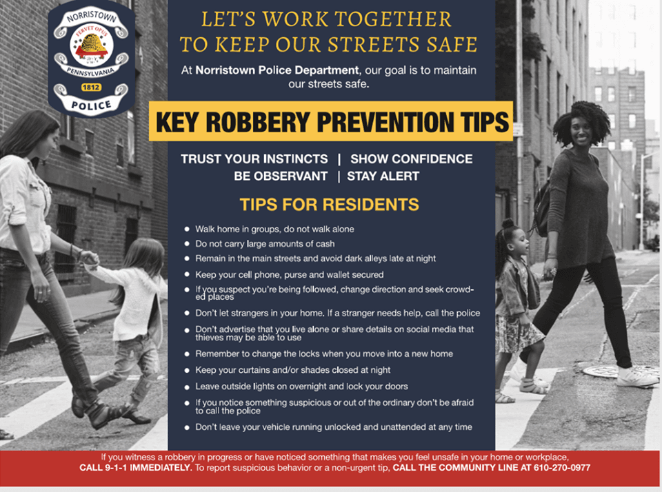 Robbery Prevention Tips