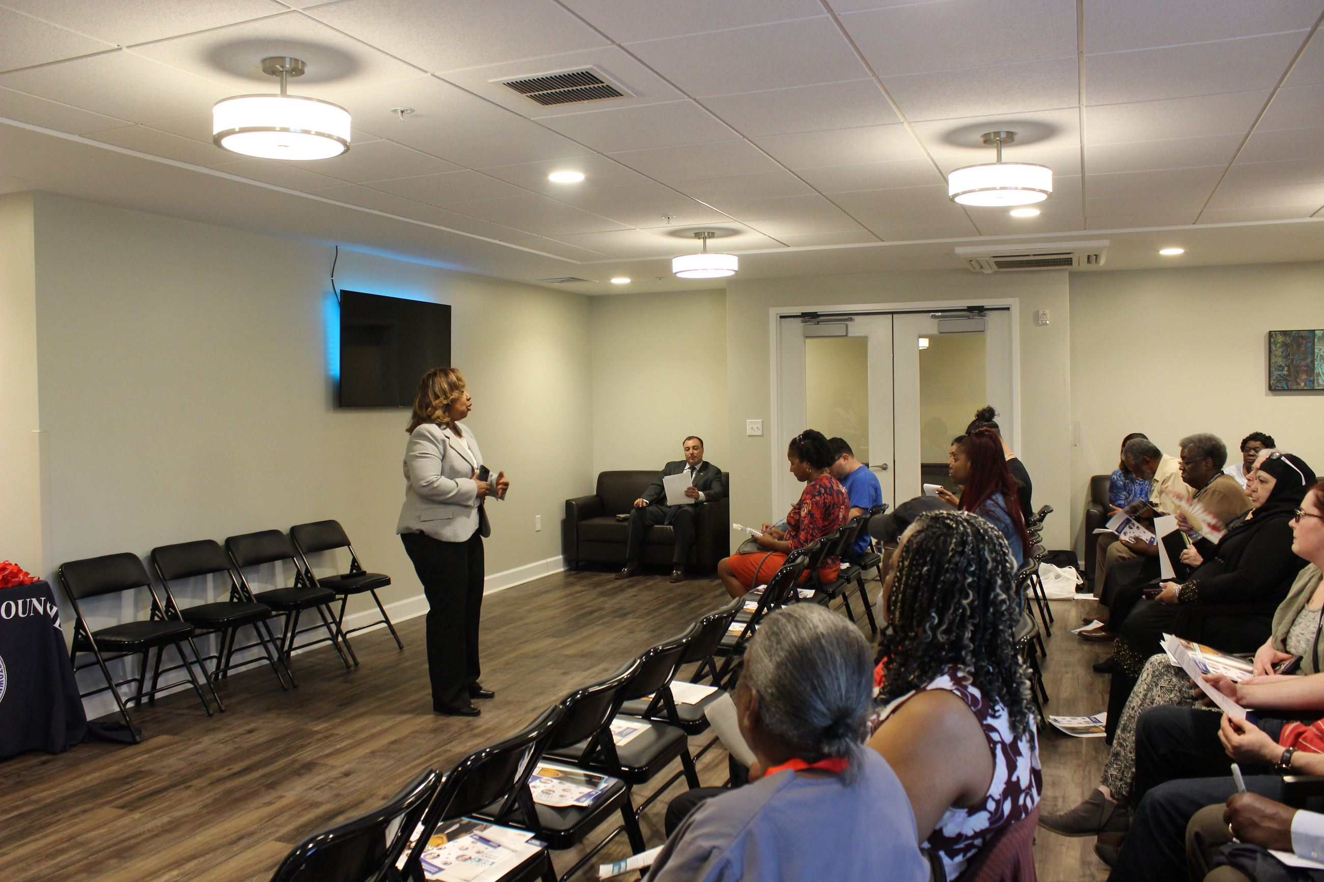 Councilwoman Cooper Town Hall