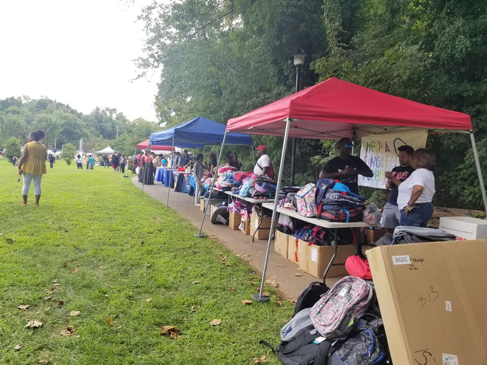Event to held single parents during back to school was held a park